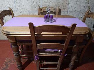 mesa buena madera REBAJASS