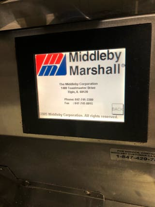 Horno MIDDLEBY MARSHALL PS640 GAS.