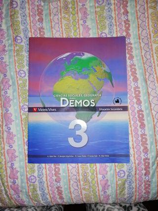 libro de sociales y geografía