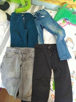 lote pantalones niño 6 años