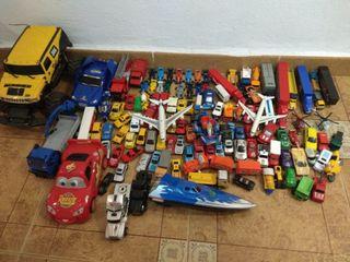 Lote coches de juguete