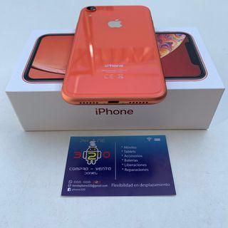 iPhone XR 64Gb Coral Impecable Original Factura
