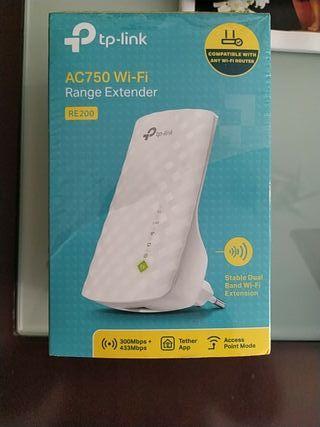 repetidor wifi tp link RE200