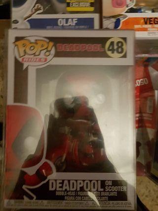 Deadpool in Scooter Funko Pop