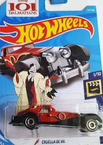 Hot Wheels CRUELLA DE VIL 101 Nuevo Sin Abrir