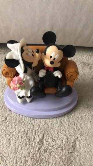 Figura novios Mickey y Minnie Disney