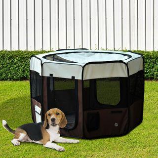 Parque Mascotas 117x71cm Juego Entrenamiento Dorm