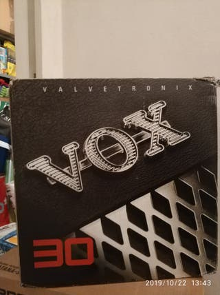 amplificador guitarra Vox VT30 valvetronics