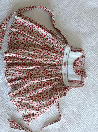 Vestido verano 3/6 meses rojo