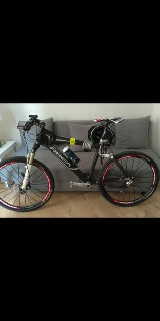 bicicleta orbea oiz carbono 26