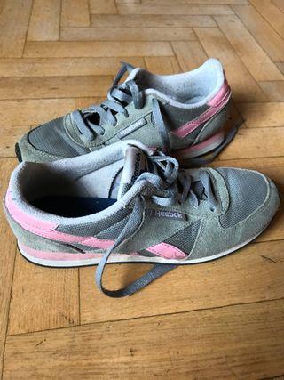 zapatillas reebok gris