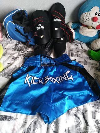 equipo kickboxing