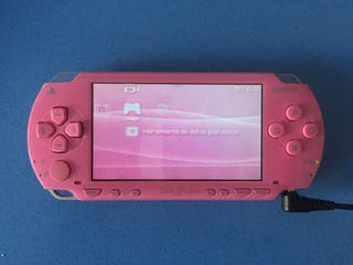 PSP 1004 + estuche + libre + funda UMD + cargador