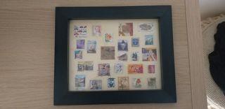 colección de sellos antiguos originales