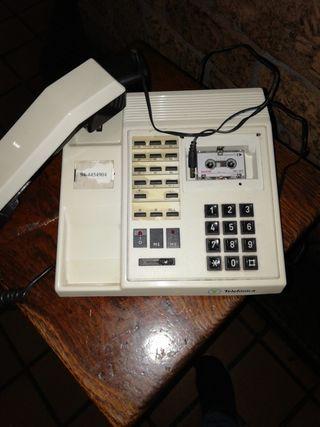 Telefono y contestador vintage