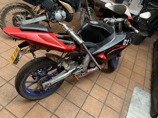 Despiece aprilia rs 50cc