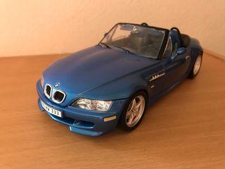 Precioso coche BMW M Roadster Burago 1:18