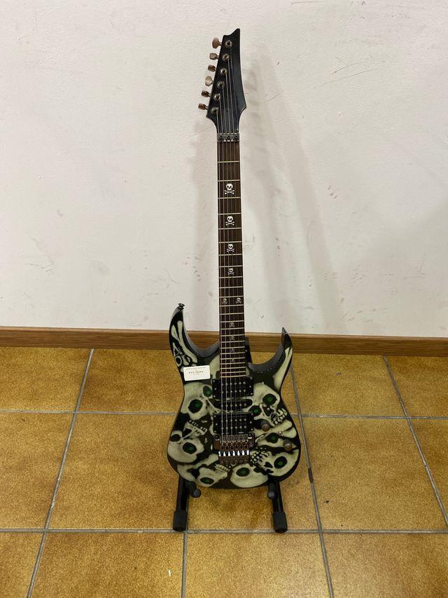 Guitarra replica Ibáñez con led