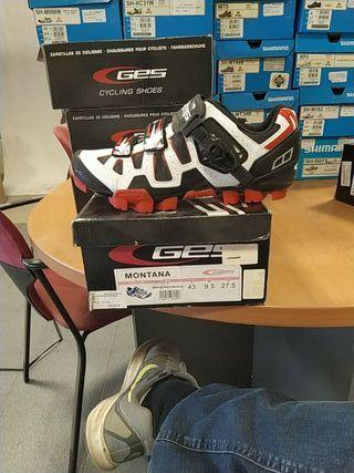 zapatillas de mtb marca ges montana talla 43