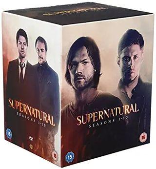 SUPERNATURAL SEASONS 1-10 DVD