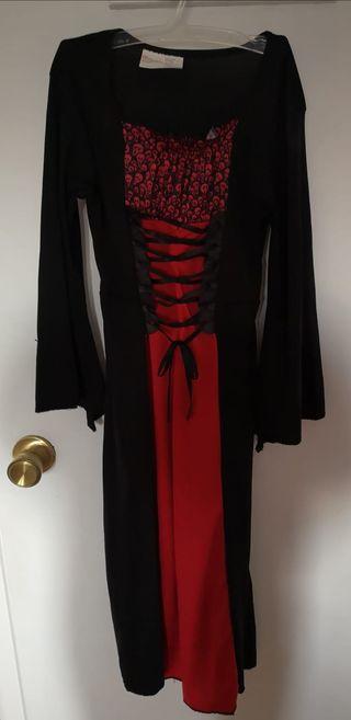 Vestido Hallowen Vampiresa