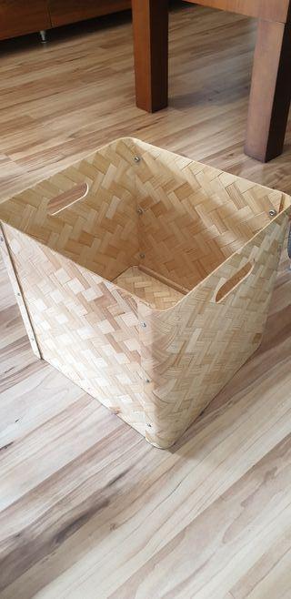 bullying caja de bambú prensado
