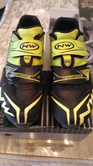 Vendo zapatillas Northwave MTB