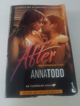 """Libro """"After"""""""