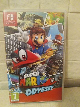 juego de super Mario Odyssey
