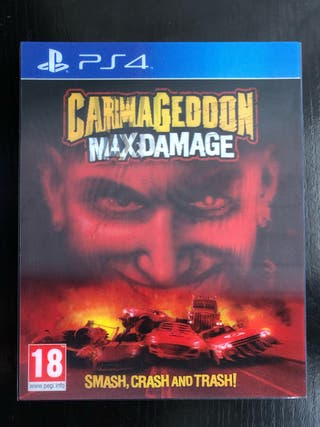 Carmageddon Maxdamage PS4