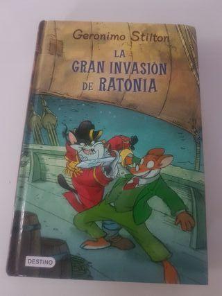 """Libro lectura """"La gran invasión de ratonia"""""""