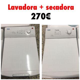 Lavadora + Secadora Hoover Otsein con garantía
