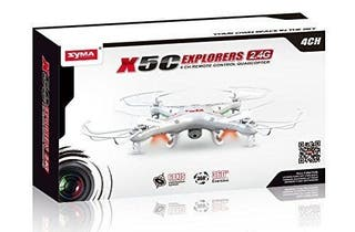 Dron Syma con dos baterías completo