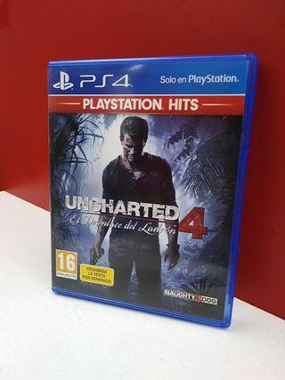 """Uncharted """"El desenlace del Ladrón"""" 4 PS4"""