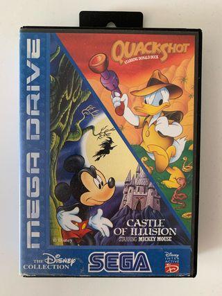 Quackshot & Castle of Illusion