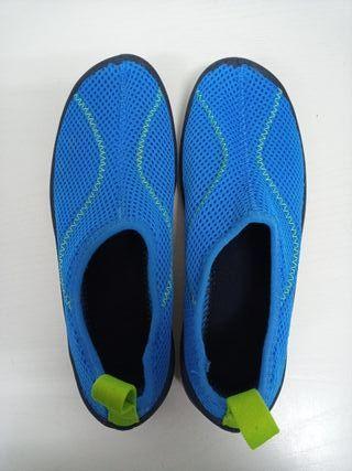 Zapatos para el agua.