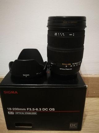Objetivo Sigma 18-200