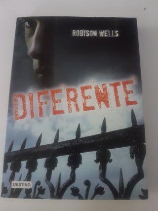 """Libro lectura """"Diferente"""""""
