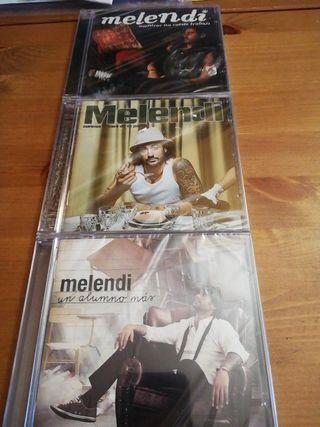3 CDs originales y precintados. Melendi.