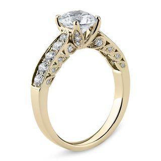 Anillo Diamantes 0,50 CT Estilo Vintage