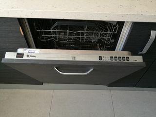 Lavavajillas integrado panelable Balay