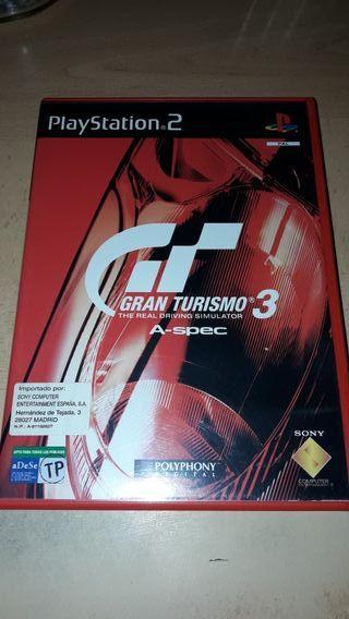 GRAN TURISMO 3 PS2