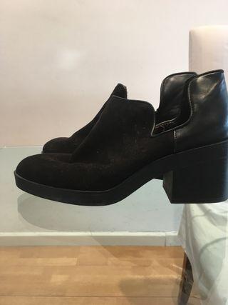 Zapatos semi botin
