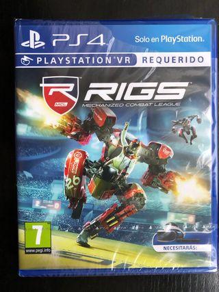 Rigs (NUEVO) PS4