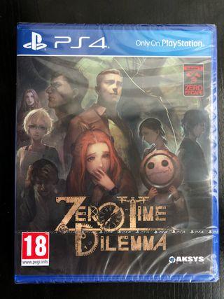 Zero Time Dilemma (NUEVO) PS4