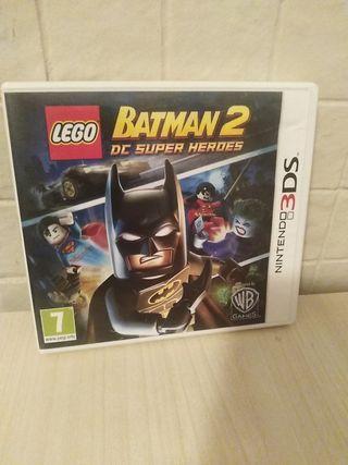 juego de lego Batman 2 para nintendo 3ds
