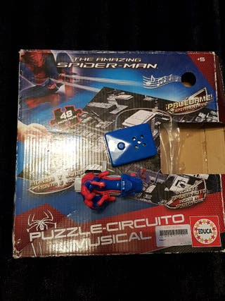 puzzle spiderman circuito