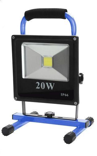 PROYECTOR 20W-BATERIA RECARGABLE-LED