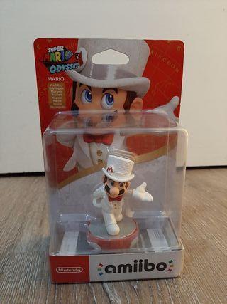 amiibo de Mario de Super Mario Odyssey
