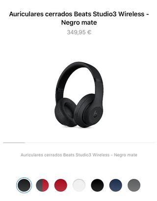Beats Studio3 Wireless-negro mate